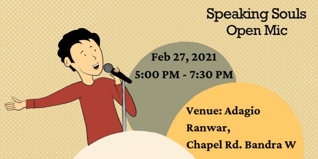 Speaking Souls - Mumbai Open Mic | Event in Mumbai | AllEvents.in