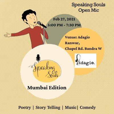 Speaking Souls - Mumbai Open Mic