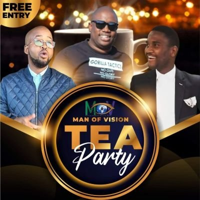 Men of vision tea party