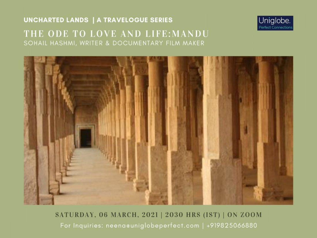 The Ode to Love and Life : Mandu, 6 June   Online Event   AllEvents.in