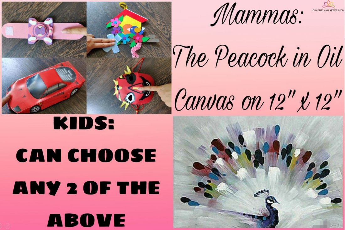 Mamma Canvas Painting and Kids Craft Making Workshop , 1 May | Event in Ahmedabad | AllEvents.in