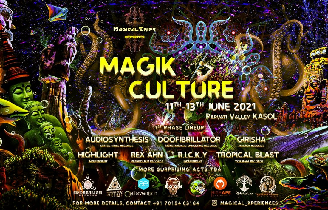 Magik Culture - 2021, 11 June | Event in Kasol | AllEvents.in
