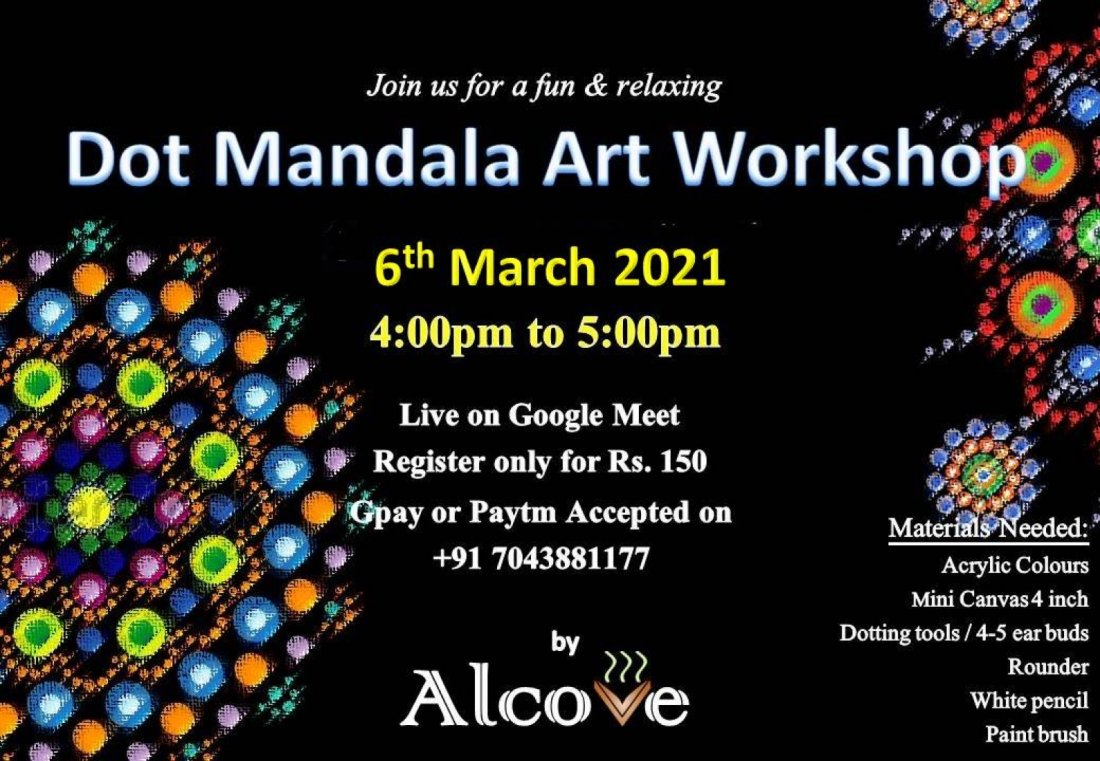 Dot Mandala Art Workshop | Online Event | AllEvents.in