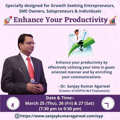 Enhance Your Productivity Workshop