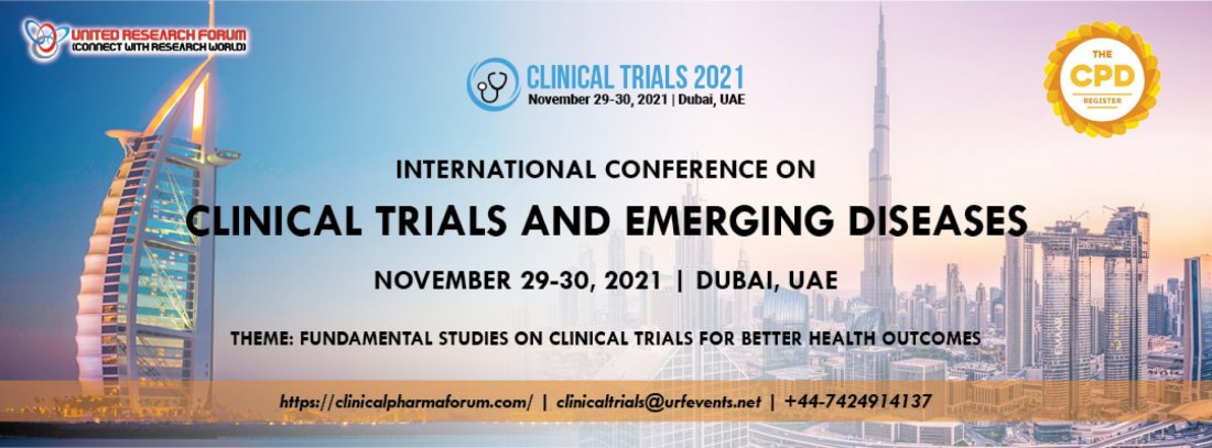 Clinical Trials Conference | Clinical Research Conference, 29 November | Event in Dubai | AllEvents.in