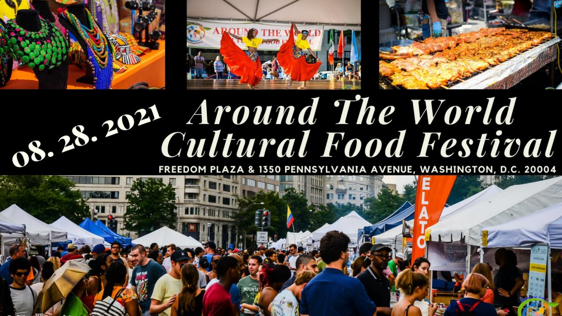 Around The World, Cultural Food Festival, 28 August | Event in Washington | AllEvents.in