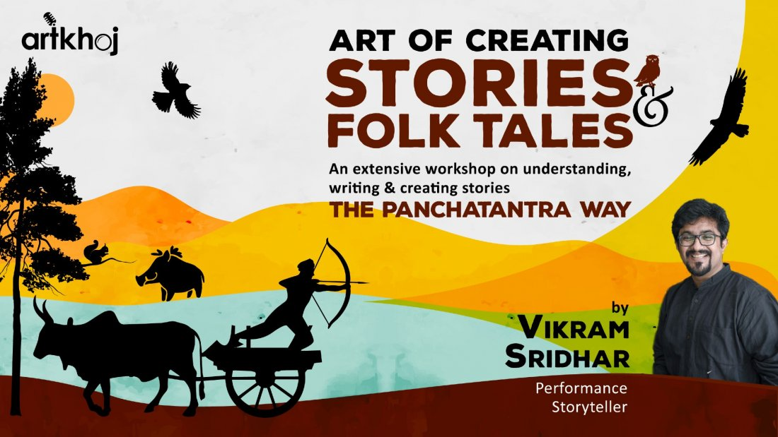 Art of Creating Stories & Folktales - An Online Workshop | Online Event | AllEvents.in