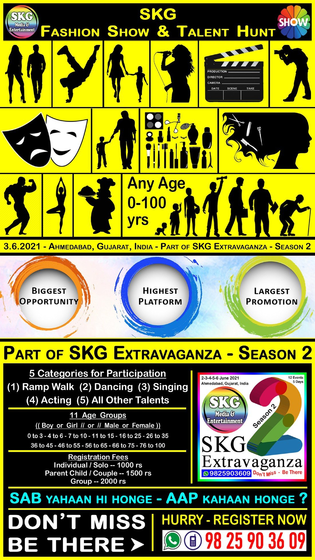 SKG Fashion Show & Talent Hunt (( Event No 8 of 12 - SKG Extravaganza Season 2 - 5 Days 12 Events )), 3 June