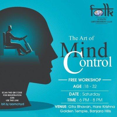 ART OF MIND CONTROL  Free Workshop at ISKCON - Hare Krishna Golden Temple