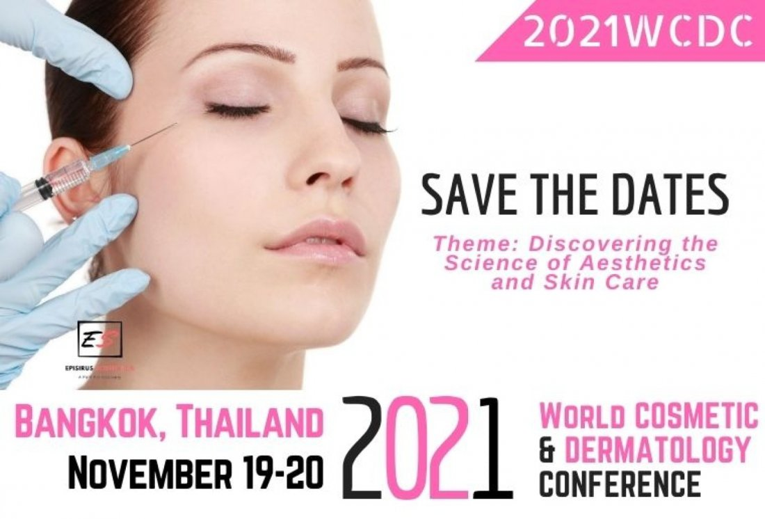 2021 World Cosmetic & Dermatology Conference, 19 November   Event in Bangkok   AllEvents.in