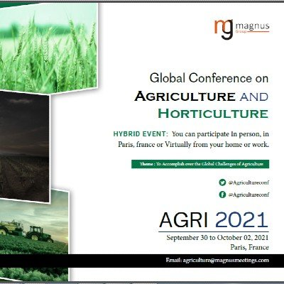 Global Conference on Agriculture and Horticulture