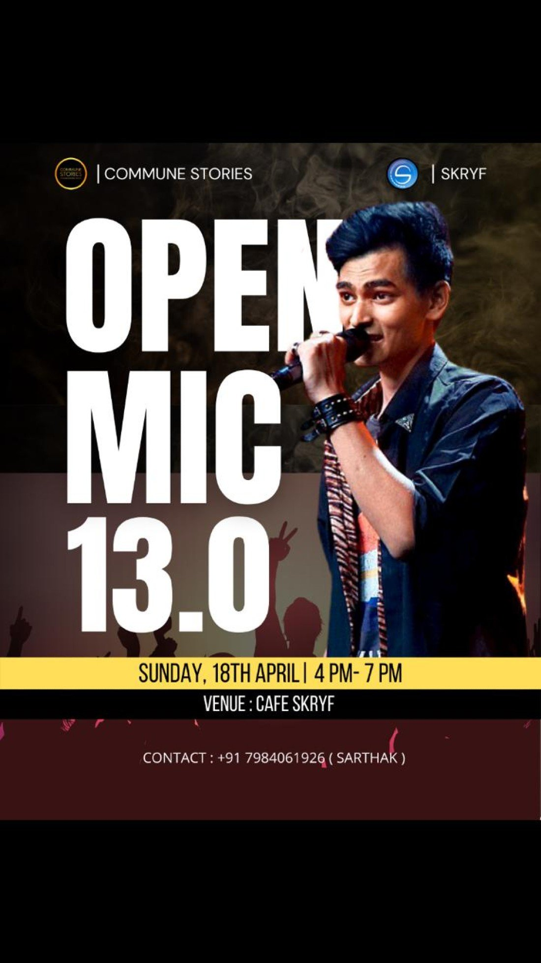Commune Stories Open Mic, 18 April | Event in Ahmedabad | AllEvents.in