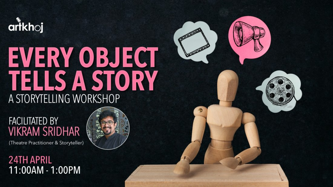 Every Object Tells A Story - An Online Storytelling Workshop, 24 April | Online Event | AllEvents.in