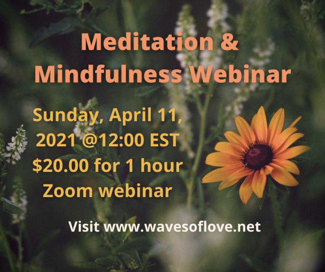 Meditation & Mindfulness Workshop (Zoom), 11 April   Online Event   AllEvents.in