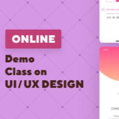 Online Demo Class On UXUI Design