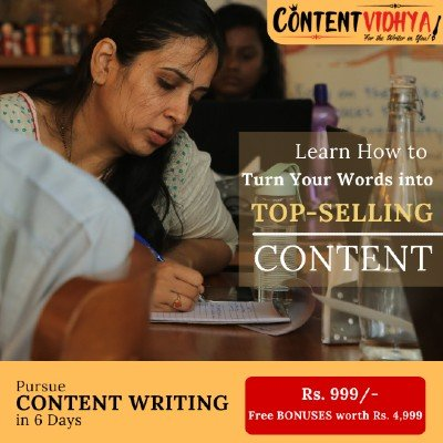 6 Days Content Writing Workshop