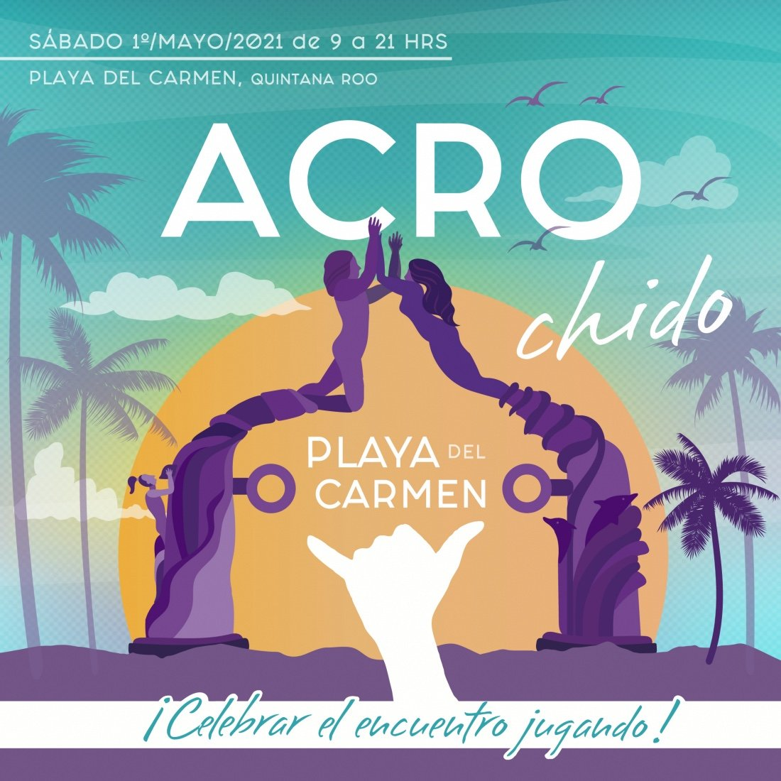 Acrochido Acroyoga Festival, 1 May | Event in Playa Del Carmen | AllEvents.in