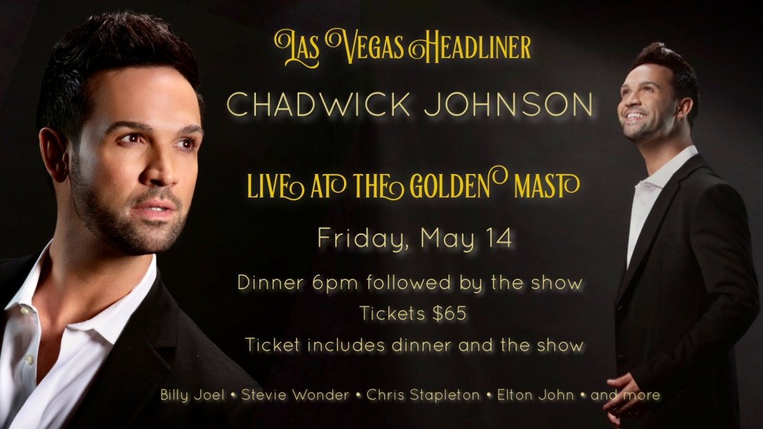 Chadwick Johnson - Live at The Golden Mast , 14 May | Event in Okauchee | AllEvents.in