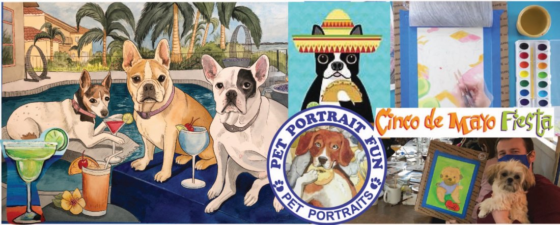Cinco De Mayo Dog Fiesta - Sip and Paint at Barking Dog | Event in New York | AllEvents.in