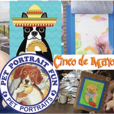 Cinco De Mayo Dog Fiesta - Sip and Paint at Barking Dog
