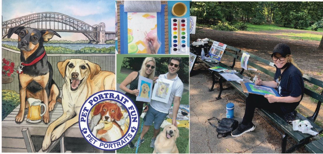 Paint and Sip Pet Portrait Dog Picnic- Carl Schurz Dog Run New York, 15 May | Event in New York | AllEvents.in