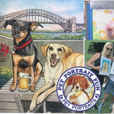Paint and Sip Pet Portrait Dog Picnic- Carl Schurz Dog Run New York