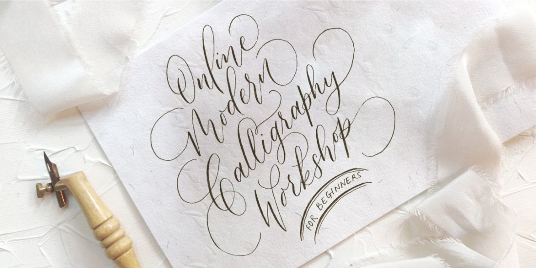 Modern Calligraphy Workshop - For Beginners, 14 August | Online Event | AllEvents.in