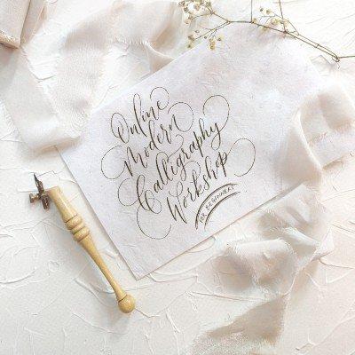 Modern Calligraphy Workshop - For Beginners