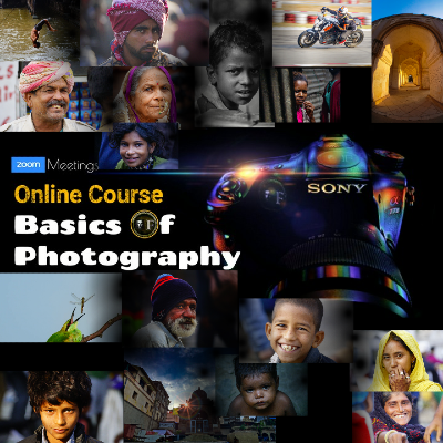 Basics Of Photography - 2 Days Online Course