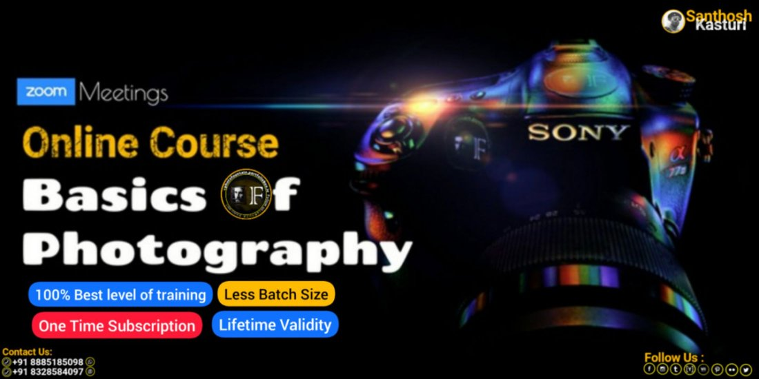 Basics Of Photography - 2 Days Online Course, 8 May | Online Event | AllEvents.in