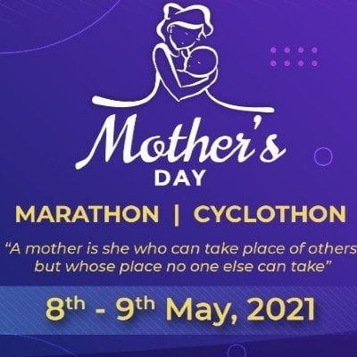 Mothers Day Virtual MarathonCyclothon 2021
