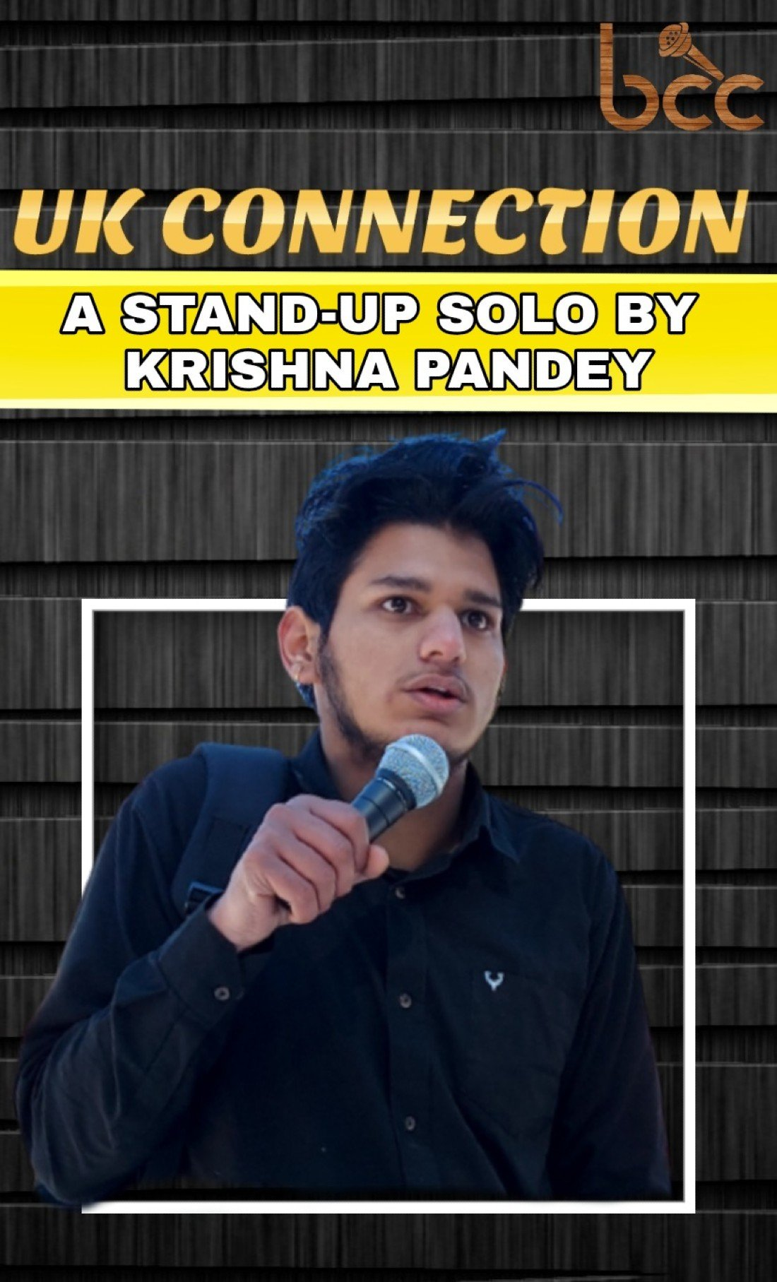 UK  CONNECTION - A STAND-UP SOLO BY KRISHNA PANDEY, 22 May | Online Event | AllEvents.in