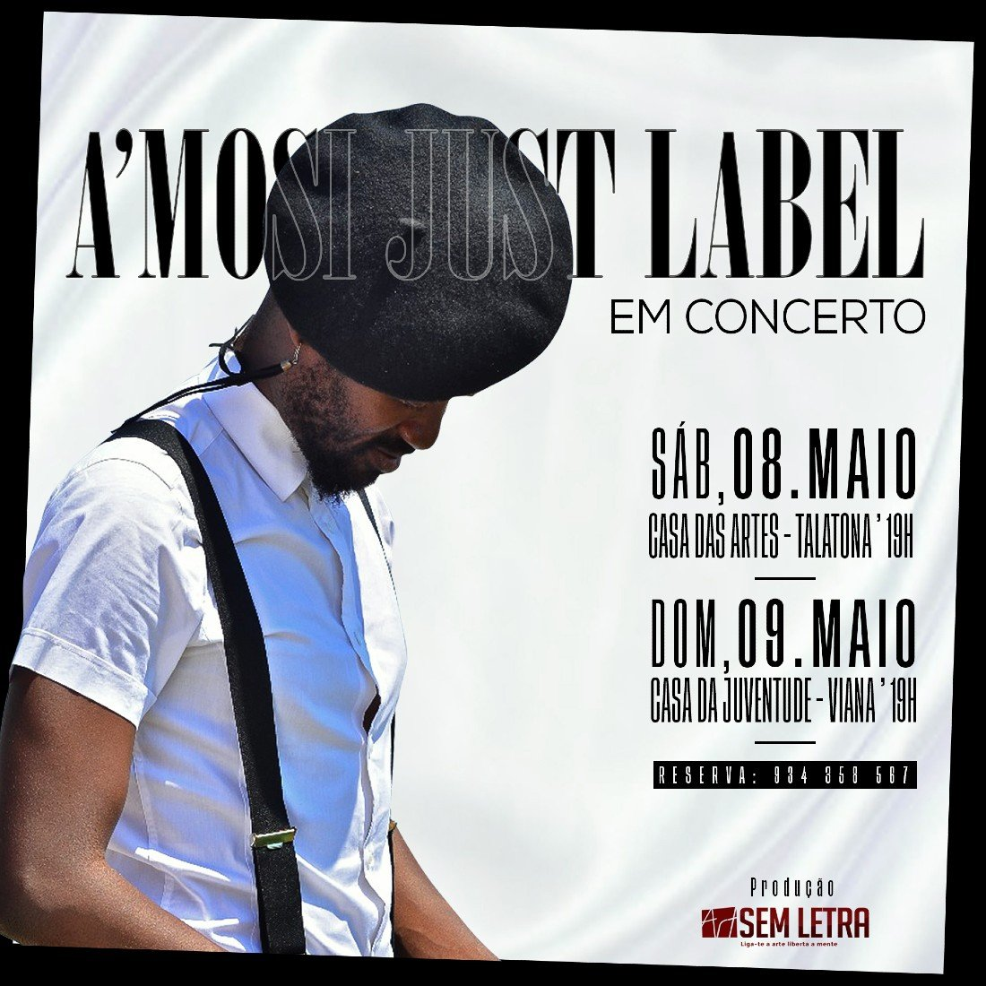A'MOSI JUST A LABEL EM CONCERTO | Event in Luanda | AllEvents.in