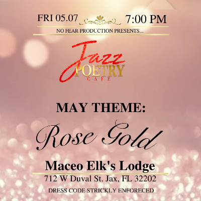 Jazz Poetry Cafe  Rose Gold Edition