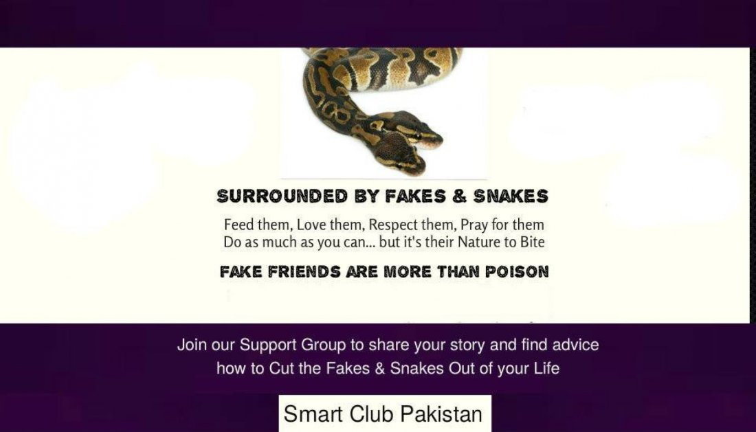 Identify and remove fake people for a peaceful life, 4 July | Event in Islamabad | AllEvents.in