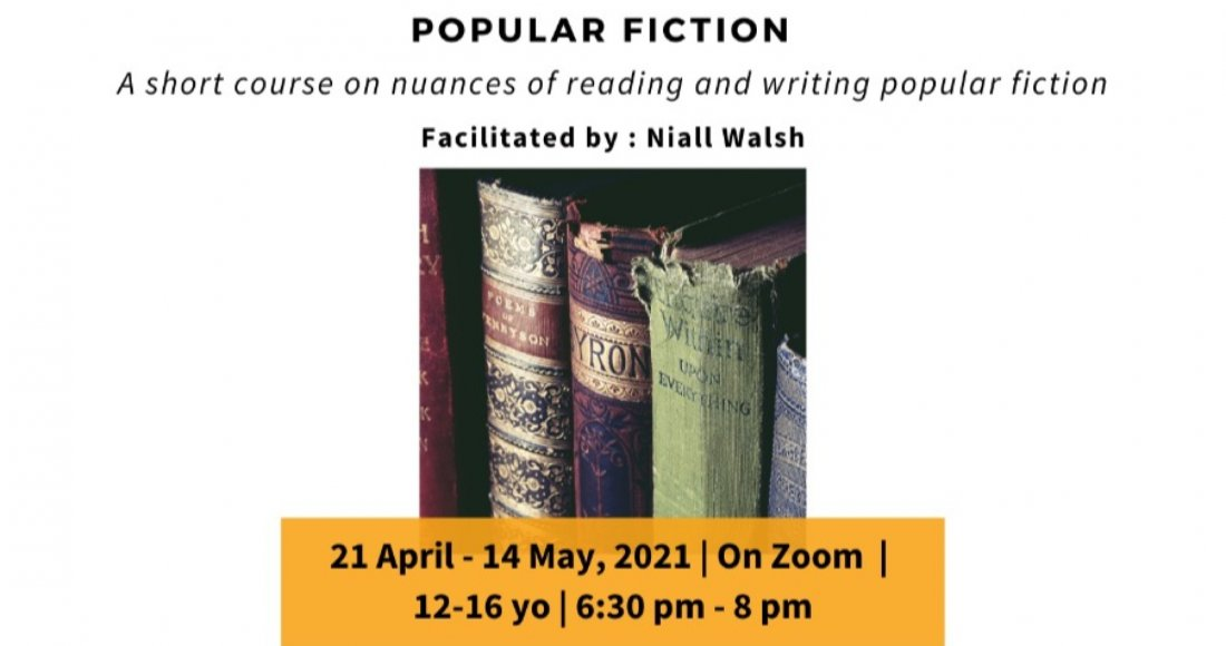 Writing Popular Fiction Course - Pitaara Immersive| For 12-16 yo | 21st Apr- 14th May | Online Event | AllEvents.in
