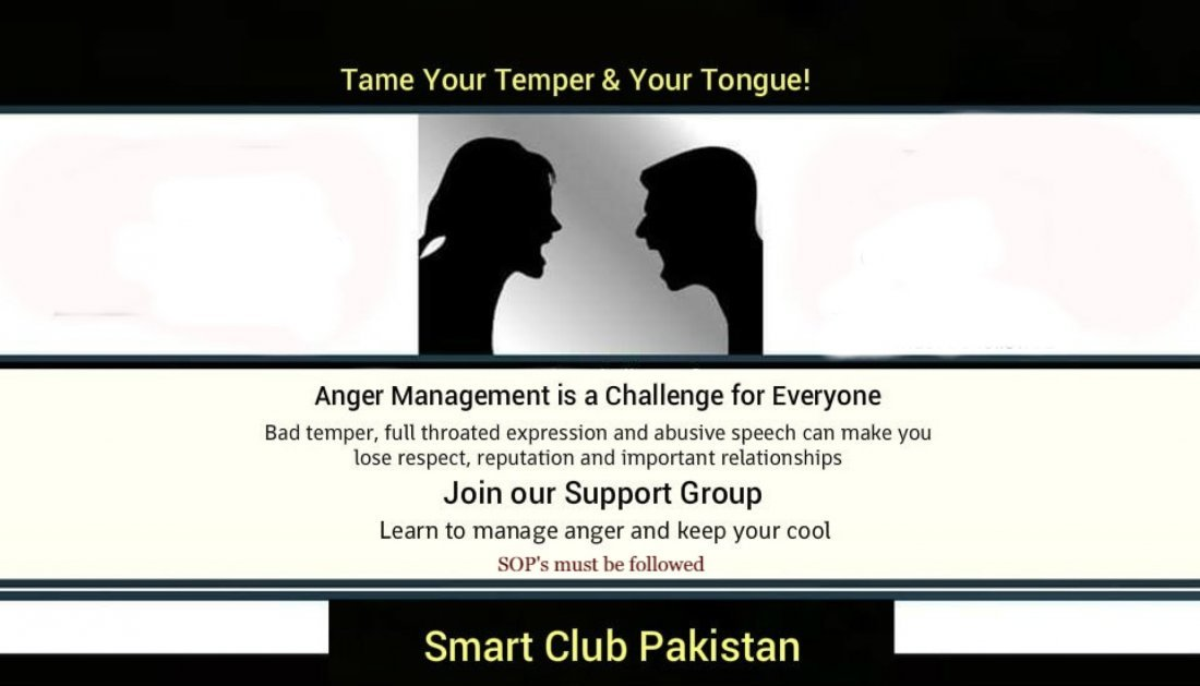 Tongue,Temper and Anger Management, 30 May | Event in Islamabad | AllEvents.in