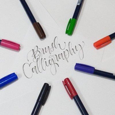 Beginners Brush Calligraphy Weekdays Classes (5 Days)