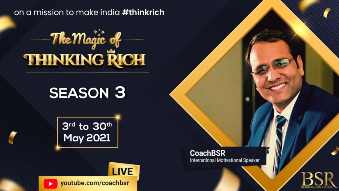 The Magic of Thinking Rich Season-3 (World's Biggest FREE ONLINE Workshop) | Online Event | AllEvents.in