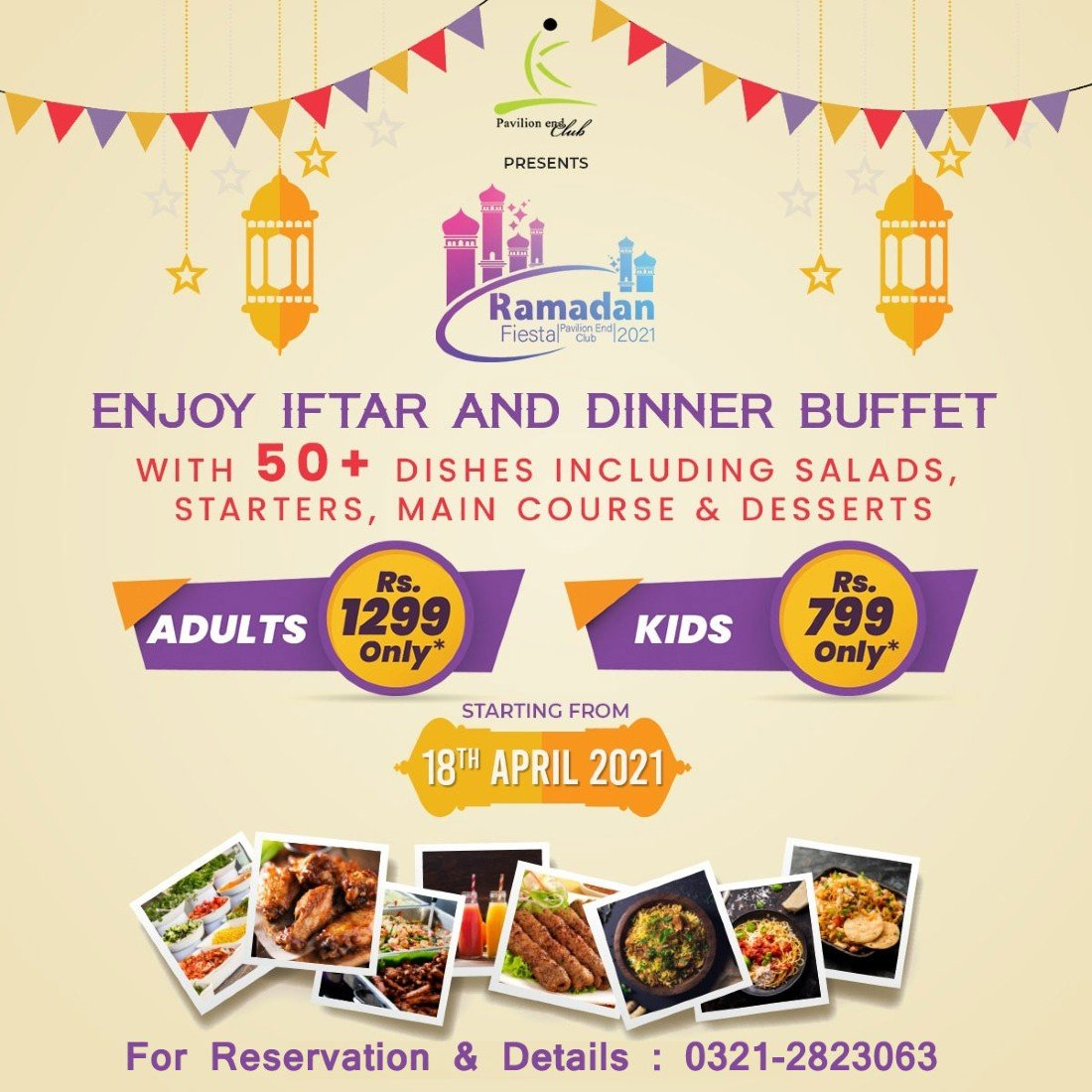 Ramazan Fiesta 2021 @ Pavilion End Club  | Event in Karachi | AllEvents.in
