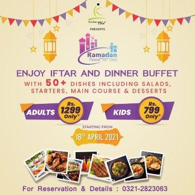 Ramazan Fiesta 2021  Pavilion End Club