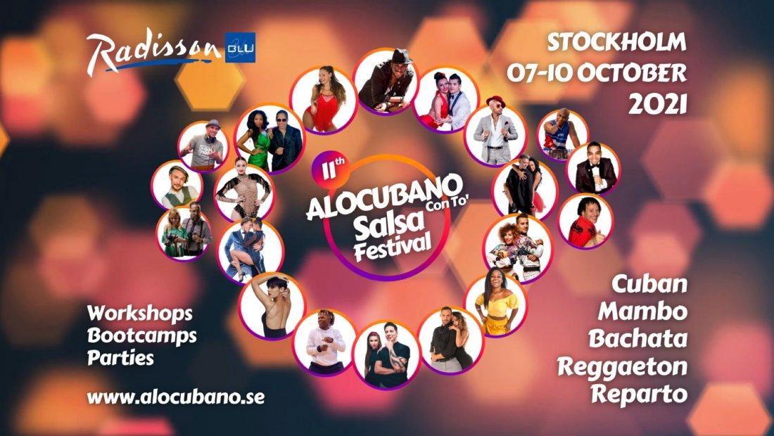 11th Alocubano Salsa Festival 2021 Stockholm, 7 October | Event in Stockholm | AllEvents.in