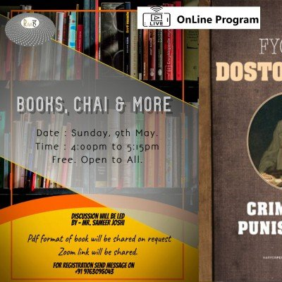 Books Chai & More  Every 2nd Sunday of the Month.  OnLine