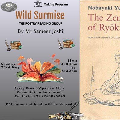 Wild Surmise  The Poetry  Reading Group.  OnLine