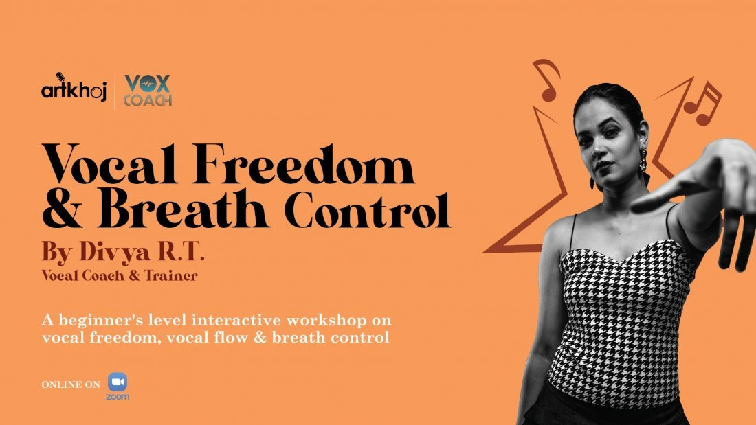 Vocal Freedom and Breath Control - Online Workshop, 22 May | Online Event | AllEvents.in