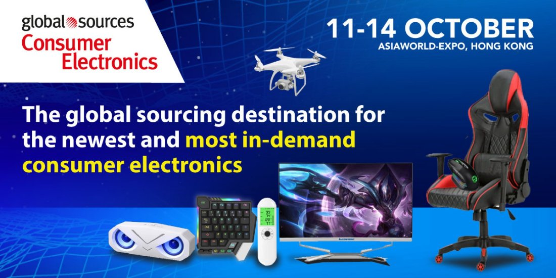 Global Sources Consumer Electronics Show     , 11 October | Event in Tuen Mun | AllEvents.in