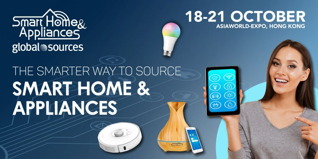 Global Sources Smart Home & Appliances Show, 18 October | Event in Tuen Mun | AllEvents.in