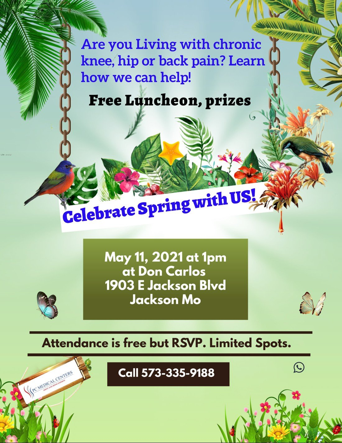 Learn Alternatives to Surgery and Steroid Shots | Event in Jackson | AllEvents.in