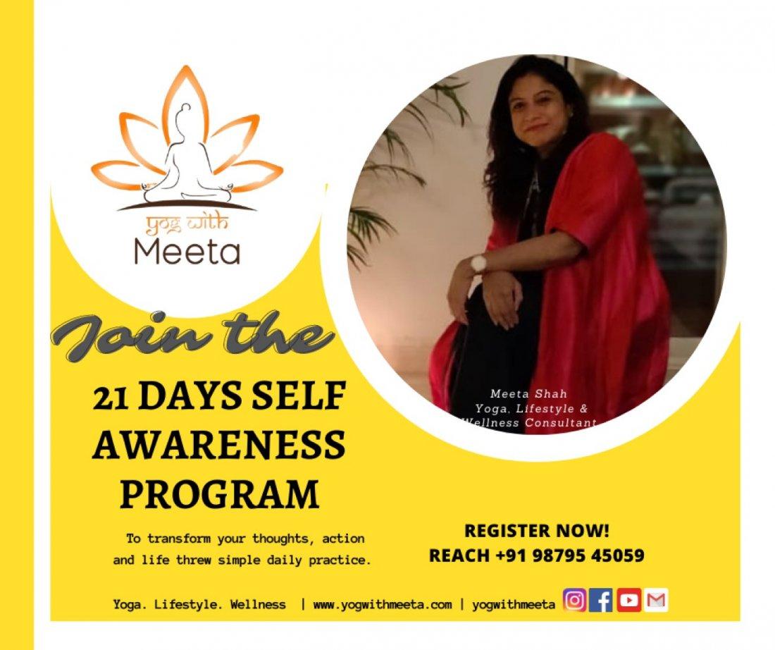 21 Days Self-Awareness Program | Online Event | AllEvents.in
