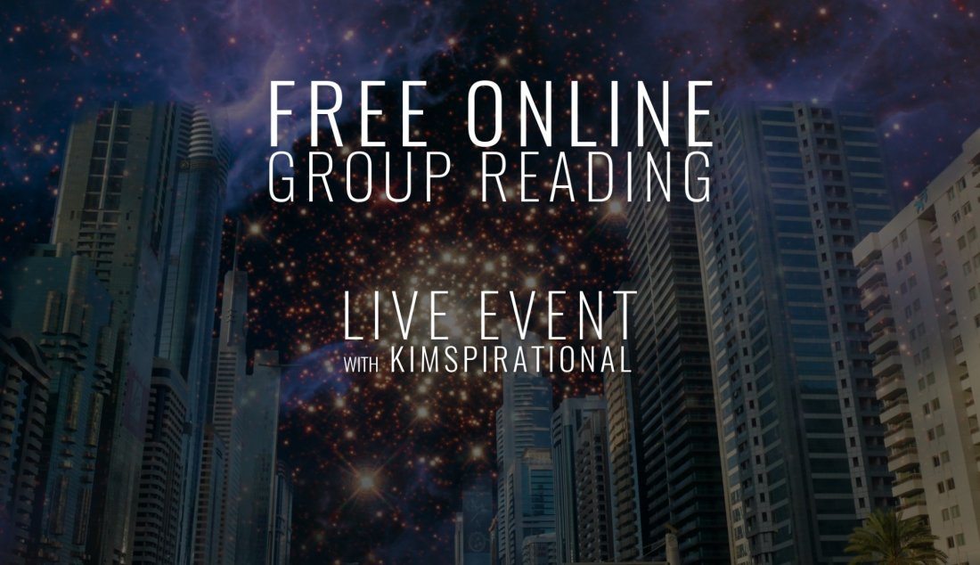 FREE Online Groupe Reading - Live Event, 8 May | Online Event | AllEvents.in